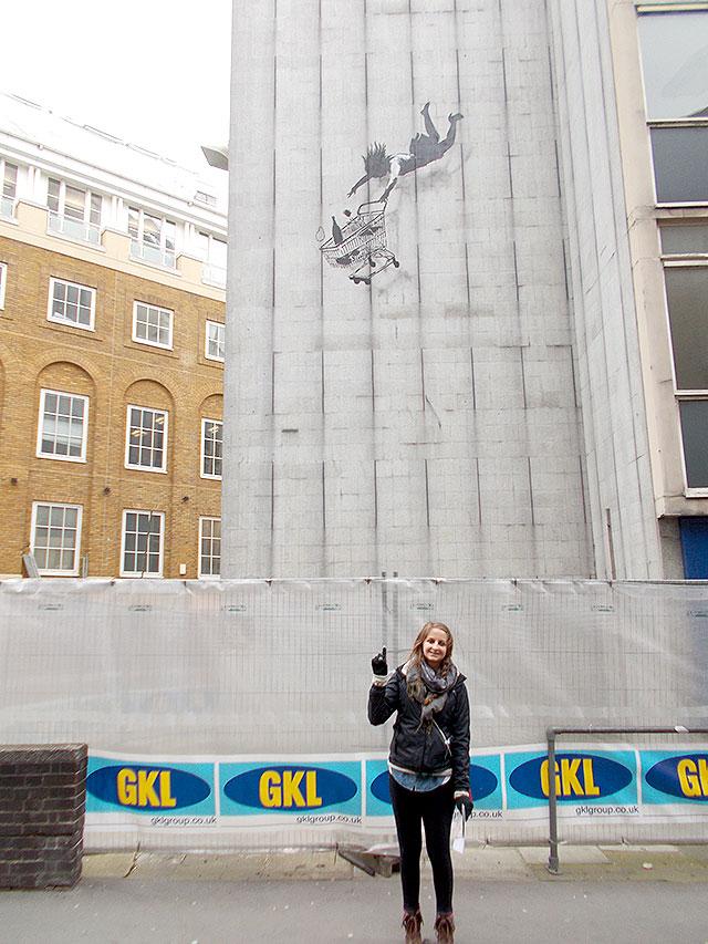 BanksyStreetLondon