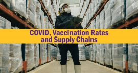 COVID, Vaccination Rates and Supply Chains