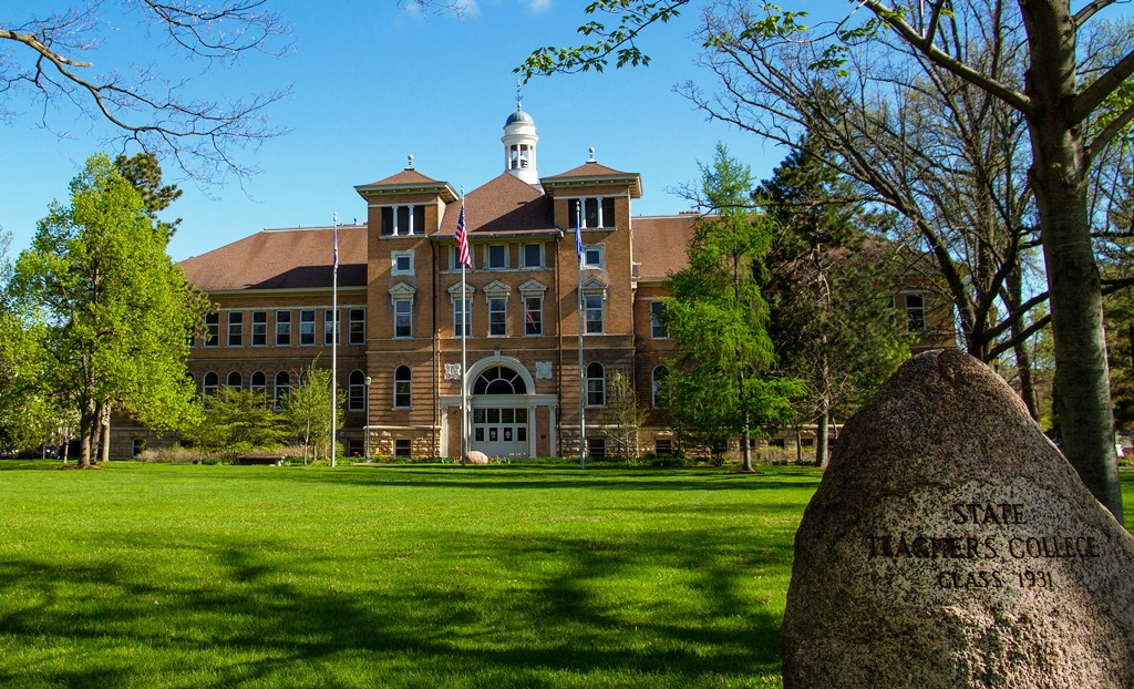 Old Main is the cornerstone of life at the University of Wisconsin-Stevens Point. It opened September 17, 1894, when the university first opened as a teachers' college.