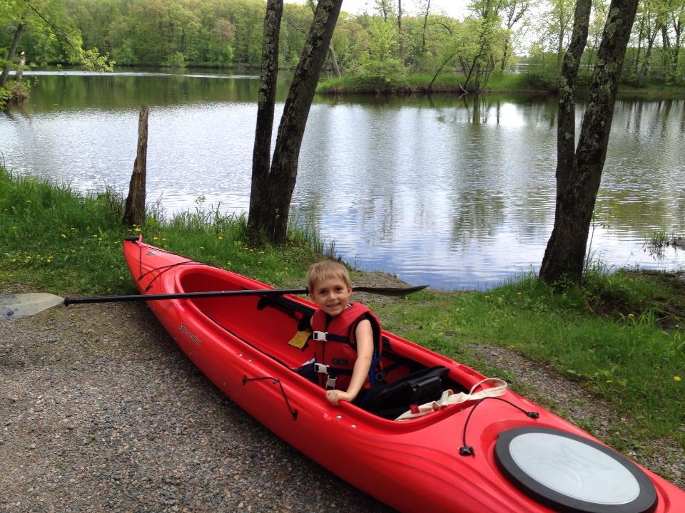 Brody Kayaking