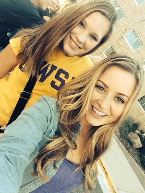 Chloe Wiersma and roommate