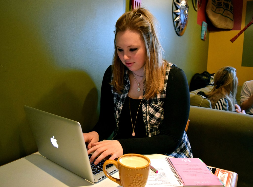Caryn Reinthaler Discusses Coffee Shops at UW-Stevens Point