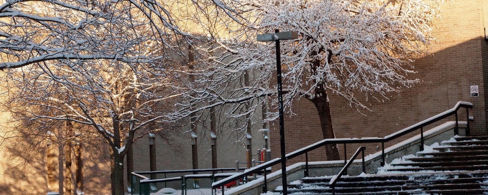 Winter at UW-Stevens Point