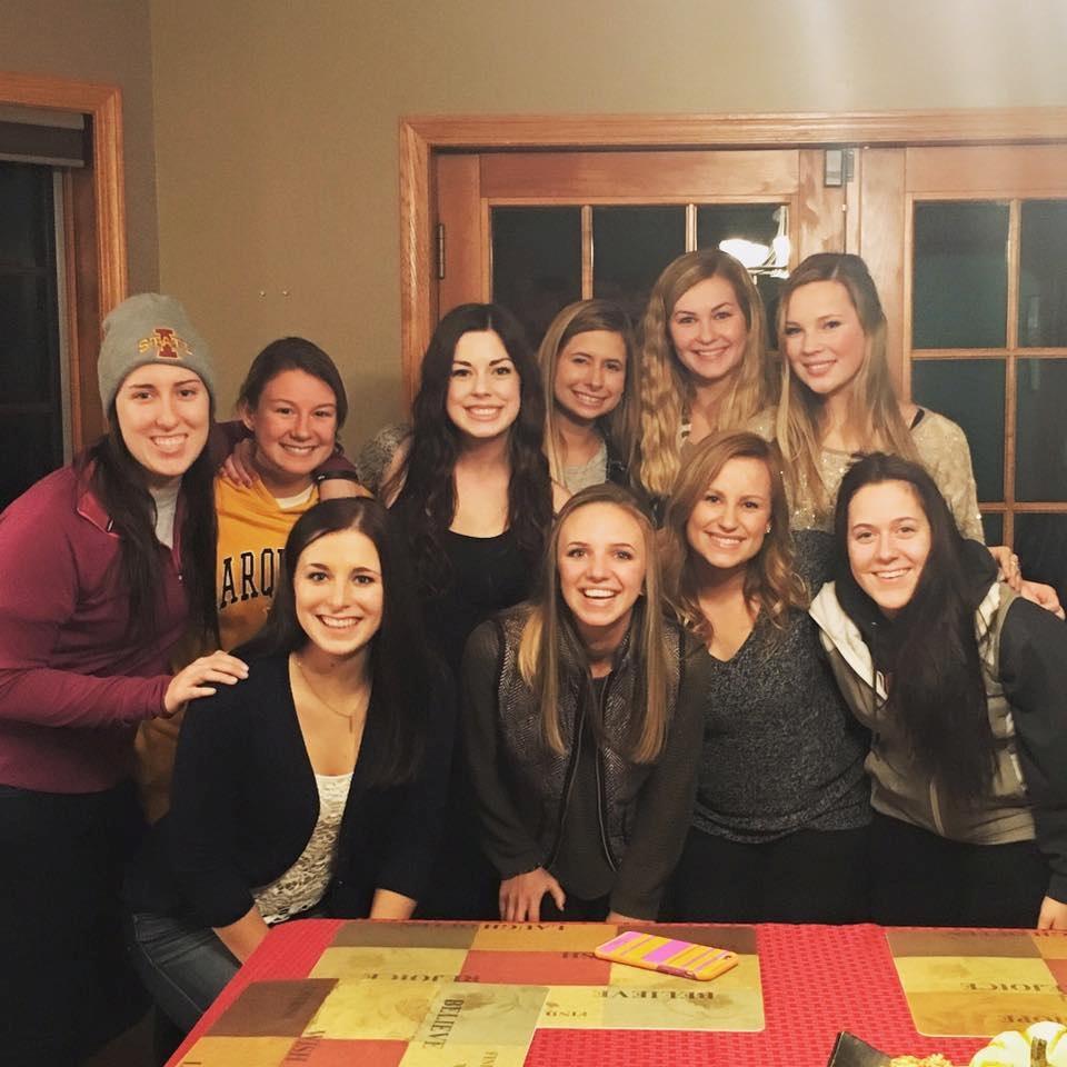 High School Friends and University of Wisconsin-Stevens Point student Chloe Wiersma