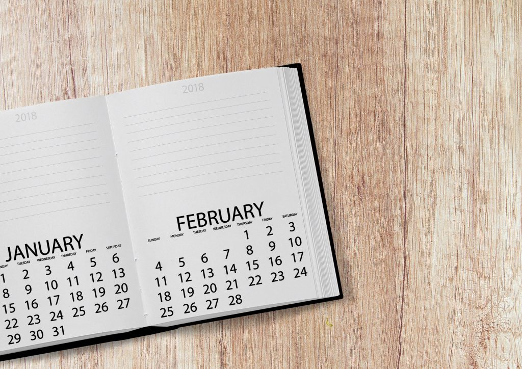 Financial aid blogger Kaitlyn Keech shares important dates to note for 2018.