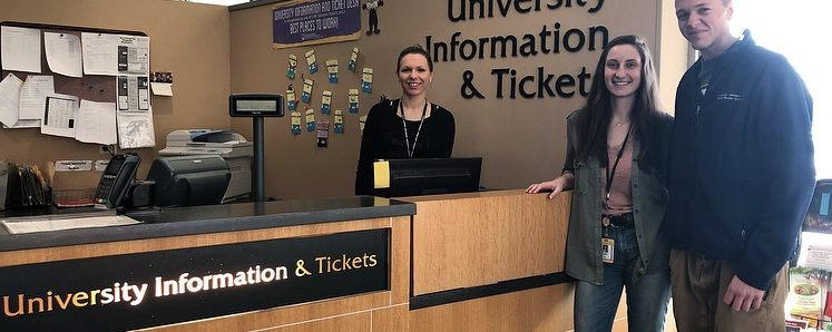University Centers blogger Monique Mata-Bonilla has the essential info you need to know about University Information and Tickets.