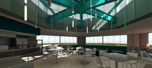 DeBot Dining Center Renovation - Rendering 1
