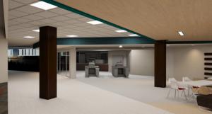 DeBot Dining Center Renovation - Rendering 3