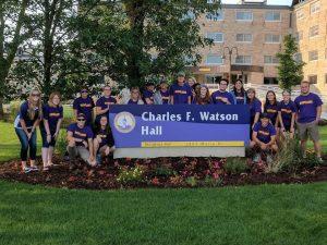 Watson Hall Leadership Team